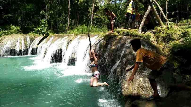 Cambugahay Falls Jump6