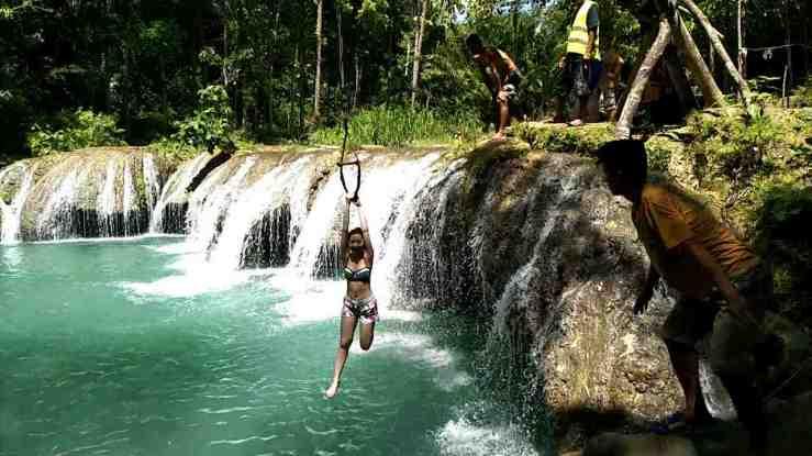 Cambugahay Falls Jump8