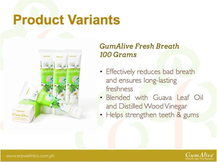 GumAlive Fresh Breath