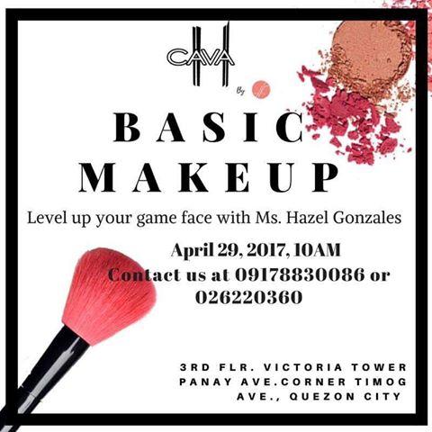 Hazel Gonzales Makeup Workshop