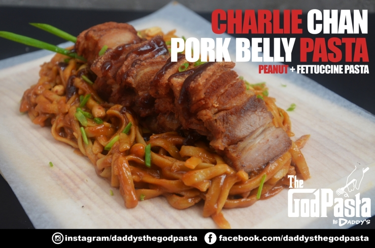 God Pasta Pork Belly