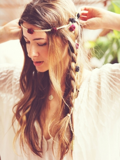 Boho Hairstyle For Long Hair Messy Bohemian Hairstyles New Haircuts To Try For 2017 - Popular Long Hairstyle Idea