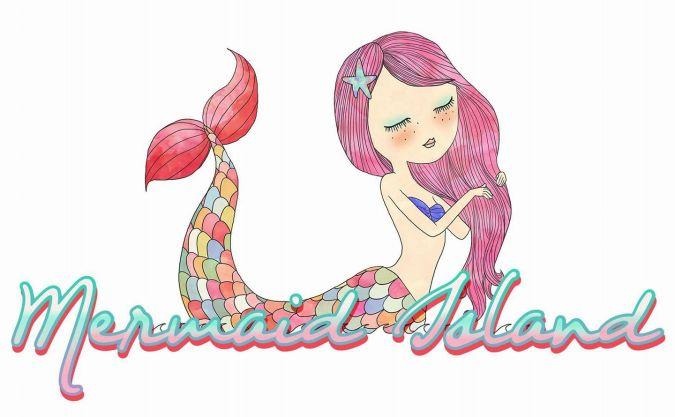 Mermaid Island Logo 2