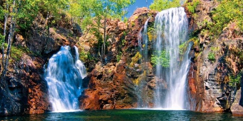 9.Litchfield National Park Waterfall