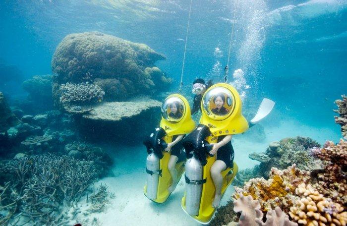 91 barrier reef